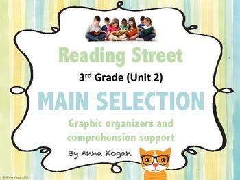 Reading Street Third Grade Unit 2: Main Selection Graphic Organizers