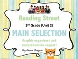 Reading Street Third Grade Unit 2: Main Selection Graphic Organizers