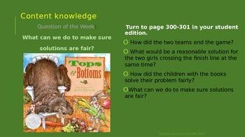 Reading Street Third Grade Unit 2 Week 4 Tops & Bottoms