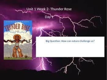 Reading Street Unit 1 Week 2-Thunder Rose