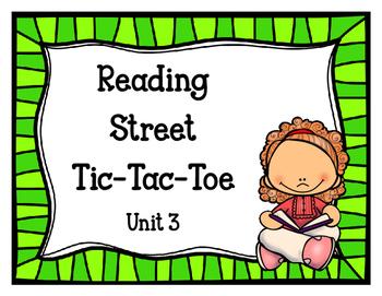 Reading Street Tic-Tac-Toe Unit 3
