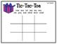 Reading Street Tic-Tac-Toe Unit 4