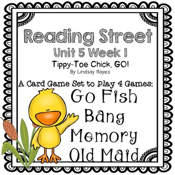 Reading Street: Tippy-Toe Chick, GO! 4-in-1 Spelling and HFW Games