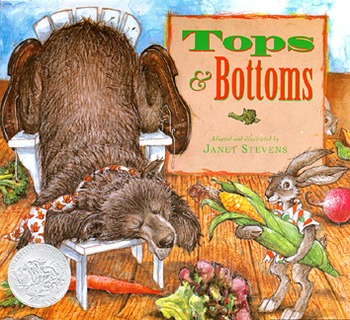 "Reading Street ""Tops and Bottoms"" Weekly PowerPoint"