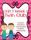 Reading Street Twin Club with no prep center packet with e
