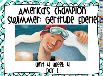 Reading Street U4W4 Flipchart - America's Champion Swimmer:Gerturde Ederle