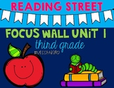 Reading Street UNIT 1 Focus Wall Grade 3