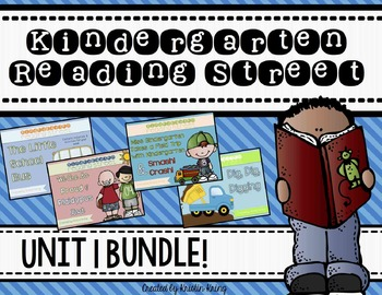 Reading Street Unit 1 BUNDLE!