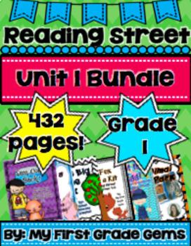 Reading Street Unit 1 Bundle Pack- Grade 1