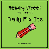 Reading Street: Unit 1 Bundle of Daily Fix-Its, Weeks 1-6