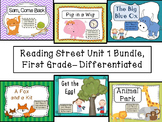 Reading Street Unit 1 First Grade Bundle-- Differentiated