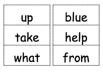 Reading Street Unit 1 Flash Cards for 1st Grade