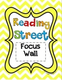 2008 and 2011 Kindergarten Reading Street Unit 1 Focus Wall