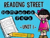 Reading Street Unit 1 Homework