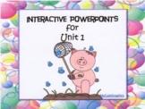 Unit 1, Reading Street, 1st Grade, PowerPoint, Student Engagement