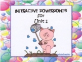 Unit 1 BUNDLE, Reading Street, 1st Grade, PowerPoint, Student Engagement