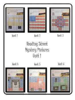 Reading Street Unit 1 Mystery Pictures