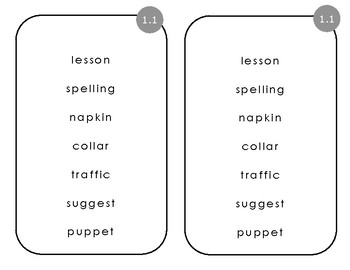 Third Grade Reading Street Unit 1 Phonics Pages