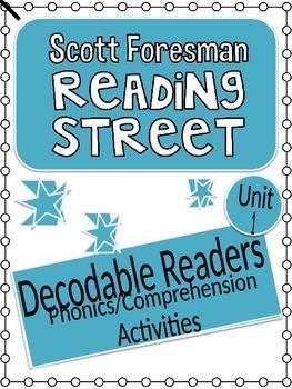 Reading Street Unit 1 Phonics/Comprehension Activities