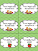 First Grade Reading Street Unit 1 Rotten Apples Sight Word Game FREEBIE