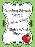 First Grade Reading Street Unit 1 Rotten Apples Sight Word