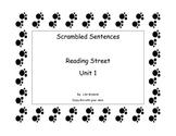 Reading Street Unit 1, Scrambled Sentences
