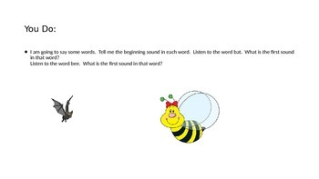Reading Street Unit 1 Week 1 Day 2 Letter Bb with clip art