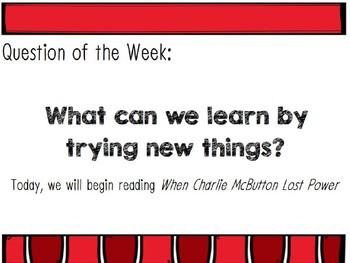 Reading Street Unit 1 Week 1  Power Point. Charlie McButton. Third Grade.