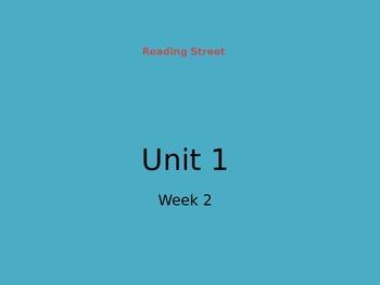 Reading Street Unit 1 Week 2