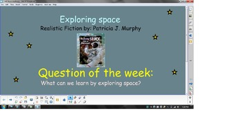 Reading Street Unit 1 Week 2: Exploring Space