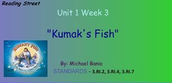 Reading Street Unit 1 Week 3: Kumak's Fish