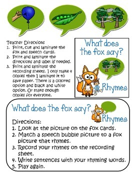 Reading Street Unit 1 Week 4 A Fox and a Kit Supplemental Activities