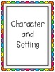 Reading Street Unit 1 Weeks 1-6 Focus Wall Posters: Grade 1