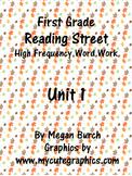Reading Street Unit 1 Word Work