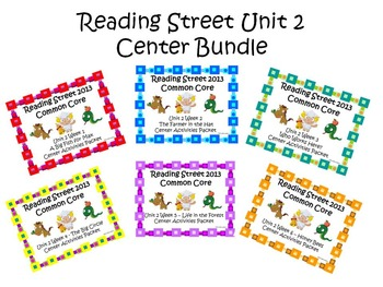 Reading Street Unit 2 Center Bundle