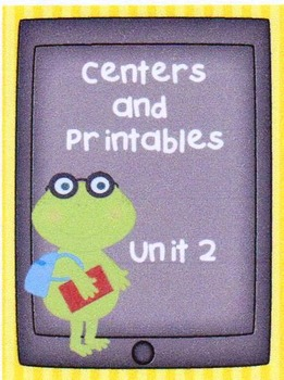 Reading Street, Unit 2,  Centers and Printables, 1st Grade