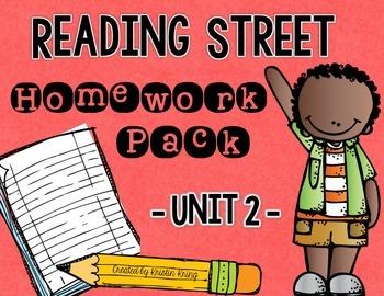Reading Street Unit 2 Daily Homework
