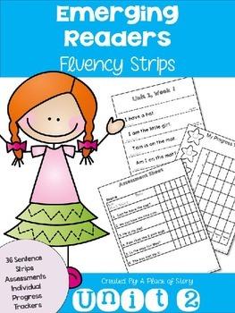 Emerging Readers Unit 2 Fluency Sentences