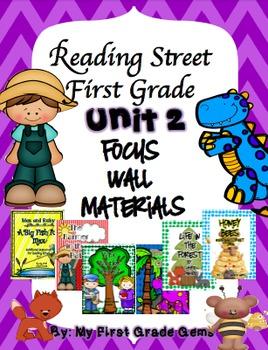 Reading Street Unit 2 Focus Wall Materials-First Grade