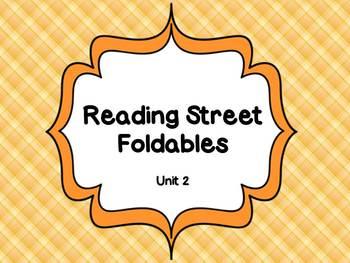 Reading Street Unit 2 Foldables 1st Grade