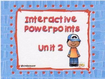 Reading Street, Unit 2, Interactive Powerpoints, 1st Grade