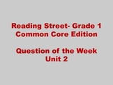 Reading Street Unit 2- Question of the Week