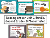 Reading Street Unit 2 Second Grade Bundle--Differentiated