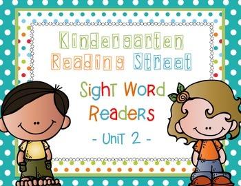 Reading Street Unit 2 Sight Word Readers