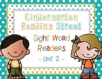 Reading Street Unit 2 Sight Word Readers