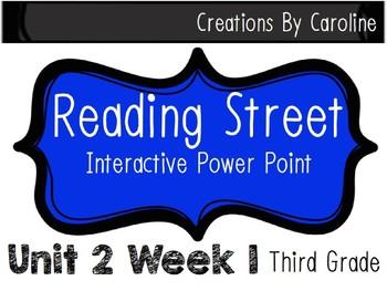 Reading Street Unit 2 Week 1 Power Point. Penguin Chick. Third Grade.