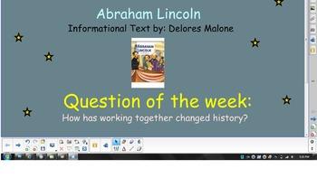 Reading Street Unit 2 Week 2: Abraham Lincoln