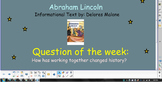 Reading Street Unit 2 Week 2: Abraham Lincoln