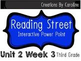 Reading Street Unit 2 Week 3 Power Point. Prudy's Problem. Third Grade.