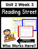 Reading Street. Unit 2 Week 3. Who Works Here? Centers/Focus Wall/Handwriting